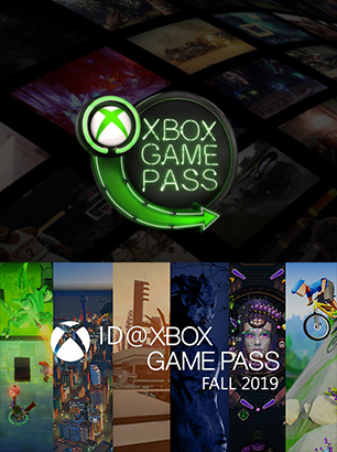 Xbox Game Pass fall 2019